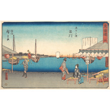 Utagawa Hiroshige: Shinagawa - Metropolitan Museum of Art