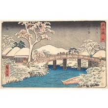 Utagawa Hiroshige: Hodogaya - Metropolitan Museum of Art