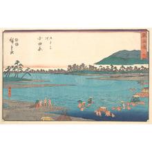 歌川広重: Odawara - メトロポリタン美術館