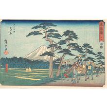 歌川広重: Yoshiwara - メトロポリタン美術館
