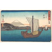 Utagawa Hiroshige: Okitsu - Metropolitan Museum of Art