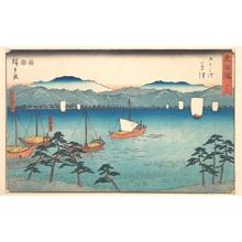 歌川広重: Kusatsu - メトロポリタン美術館