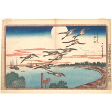 Utagawa Hiroshige: Full Moon at Takanawa - Metropolitan Museum of Art