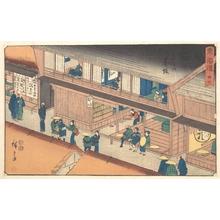 歌川広重: Akasaka - メトロポリタン美術館