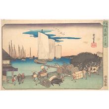 Utagawa Hiroshige: Takanawa no Yukei - Metropolitan Museum of Art