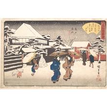 Utagawa Hiroshige: Kameido Uramon (Tama-ya) - Metropolitan Museum of Art
