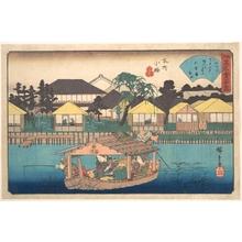 歌川広重: Honjo Komme (Ogura-an) - メトロポリタン美術館