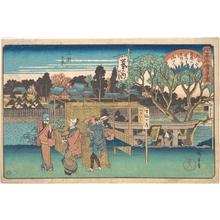 歌川広重: Mimeguri no Kei (Toyoha-ya) - メトロポリタン美術館