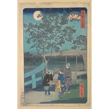 Utagawa Hiroshige: Sumidagawa, Mimeguri - Metropolitan Museum of Art