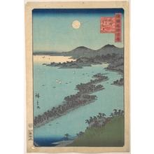 二歌川広重: Tango Amano Hashidate - メトロポリタン美術館