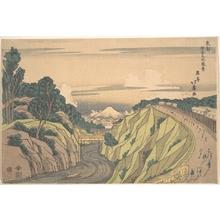 昇亭北壽: View of Ochanomizu in the Eastern Capital - メトロポリタン美術館