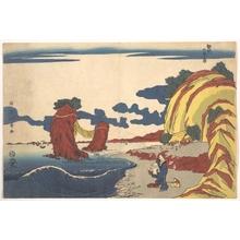 昇亭北壽: View of Futami Beach at Ise - メトロポリタン美術館