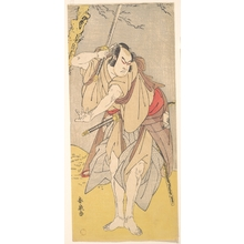 Katsukawa Shunsen: The Actor Onoe Matsusuke as a Samurai with a Drawn Sword - Metropolitan Museum of Art