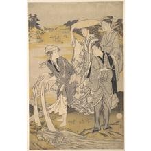 窪俊満: The Tazukuri no Tamagawa, Popularly Known as the Chofu no Tamagawa - メトロポリタン美術館
