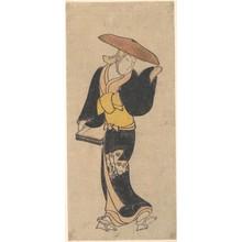 近藤清春: The Actor Sanjô Kantarô as an Itinerant Buddhist Nun - メトロポリタン美術館