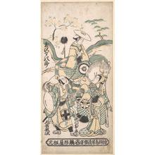 鳥居清倍: Scene from a Drama - メトロポリタン美術館