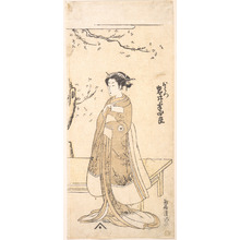 鳥居清満: The Fourth Imai Hanshiro in the Role O Hatsu in