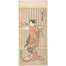 Torii Kiyomitsu: The Actor Yamashita Kinsaku in the Role of Mutsuhana - Metropolitan Museum of Art