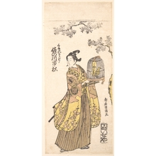 Torii Kiyomitsu: The Actor Sanogawa Ichimitsu in Role of Kumenosuke - Metropolitan Museum of Art