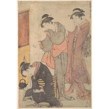Torii Kiyonaga: A Practical Joke - Metropolitan Museum of Art