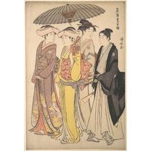 Torii Kiyonaga: Two Ladies Out for a Walk - Metropolitan Museum of Art