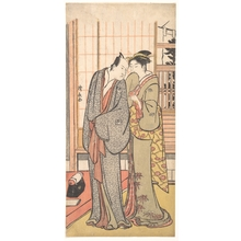 Torii Kiyonaga: Ichikawa Yaozo III with a Lady - Metropolitan Museum of Art