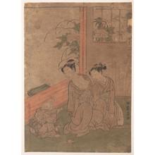 磯田湖龍齋: Mrs. Tô - メトロポリタン美術館