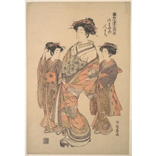 Isoda Koryusai: The Oiran Hitomachi of Tsutaya - Metropolitan Museum of Art