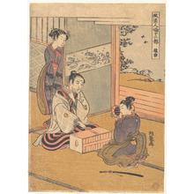 磯田湖龍齋: Monkey Dance - メトロポリタン美術館