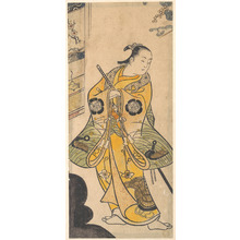 Torii Kiyotada I: Actor as a Samurai Youth - Metropolitan Museum of Art