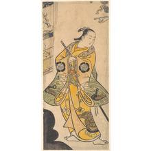 鳥居清忠: Actor as a Samurai Youth - メトロポリタン美術館