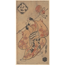 鳥居清信: The Actor Kakimura Kichisaburo as a Dancing Girl - メトロポリタン美術館