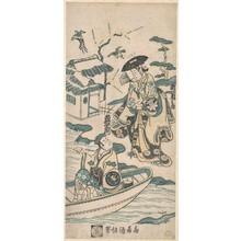 鳥居清信: Scene from a Drama, probably