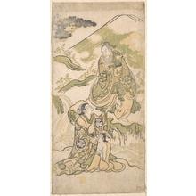 鳥居清信: Scene from a Drama - メトロポリタン美術館