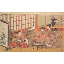 Isoda Koryusai: A Mock Marriage Ceremony - Metropolitan Museum of Art