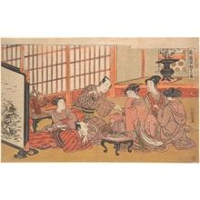 磯田湖龍齋: A Mock Marriage Ceremony - メトロポリタン美術館
