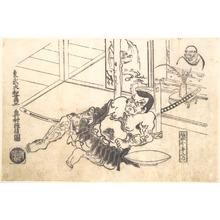 奥村政信: Sakata Kinpira Nyudo - メトロポリタン美術館