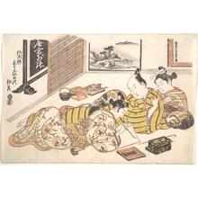 Okumura Masanobu: Niô Ume - Metropolitan Museum of Art