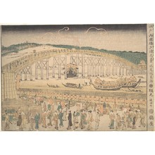 Keisai: Ryogoku Bridge - Metropolitan Museum of Art