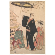 Torii Kiyonaga: Ichikawa Yaozo III in the Role of Sukeroku from the Play