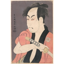 Toshusai Sharaku: Ichikawa Omezô I in the Role of Yakko Ippei from the Play Koinyôbô Somewake Tazuna - Metropolitan Museum of Art
