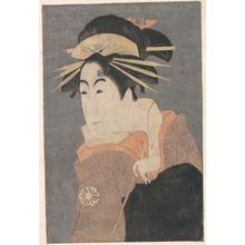 Toshusai Sharaku: Matsumoto Yonesaburo as Kewaizaka no Shosho in the Play