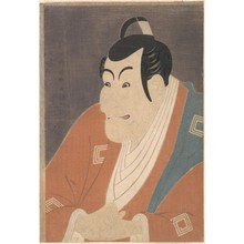 Toshusai Sharaku: Ichikawa Ebizo IV in the role of Takemura Sadanoshin - Metropolitan Museum of Art