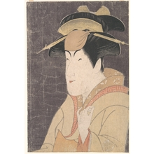 Toshusai Sharaku: Nakayama Tomisaburô as Miyagino in the Play