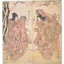 Toshusai Sharaku: Actor Ichikawa Yaozo III as a Courtesan's Attendant - Metropolitan Museum of Art