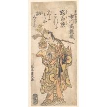 Kitao Shigemasa: The Actor Ichikawa Komazo I in the role of Utou Yarukata - Metropolitan Museum of Art