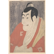 Toshusai Sharaku: Ichikawa Ebizô IV as Takemura Sadanojô in the Play Koinyôbô Somewake Tazuna - Metropolitan Museum of Art