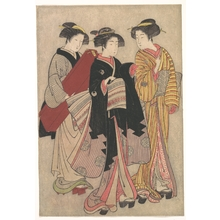 Kitao Shigemasa: Two Geishas Out Walking - Metropolitan Museum of Art