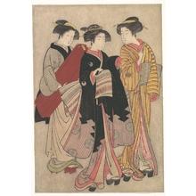 Kitao Shigemasa: Two Geishas Out Walking - Metropolitan Museum of Art