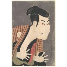 Toshusai Sharaku: Ôtani Oniji III as Yakko Edobei in the Play